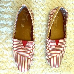 Toms slip on shoes!